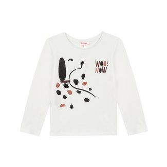 Girl's dalmatian motif jersey T-shirt