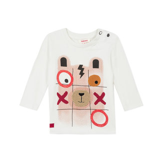 Baby boy's jersey T-shirt with puzzle motif