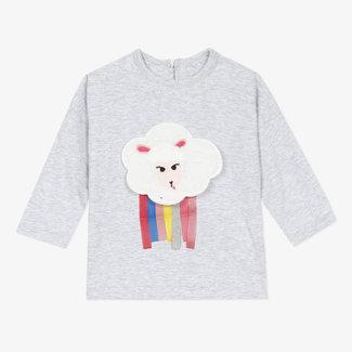 CATIMINI Baby girls' marl jersey T-shirt