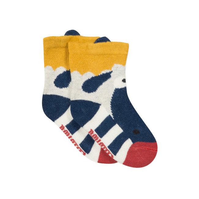 CATIMINI Baby boy's jacquard socks