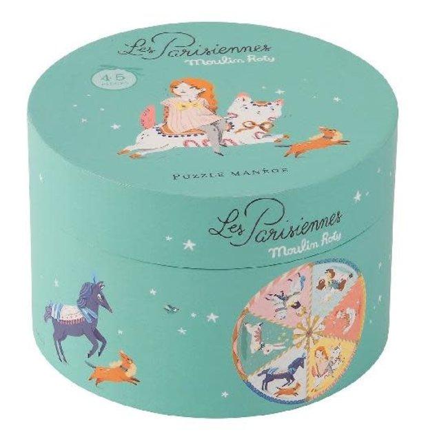Parisiennes - carousel puzzle