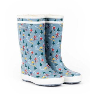 AIGLE LOLLY POP P FUR RUBBER BOOTS SKI