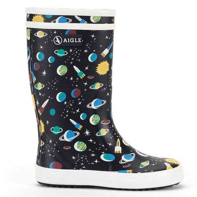 AIGLE LOLLY POP KID RUBBER BOOTS GALAXIE