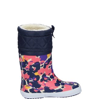 AIGLE GIBOULEE PRINT RUBBER BOOTS FLOWER
