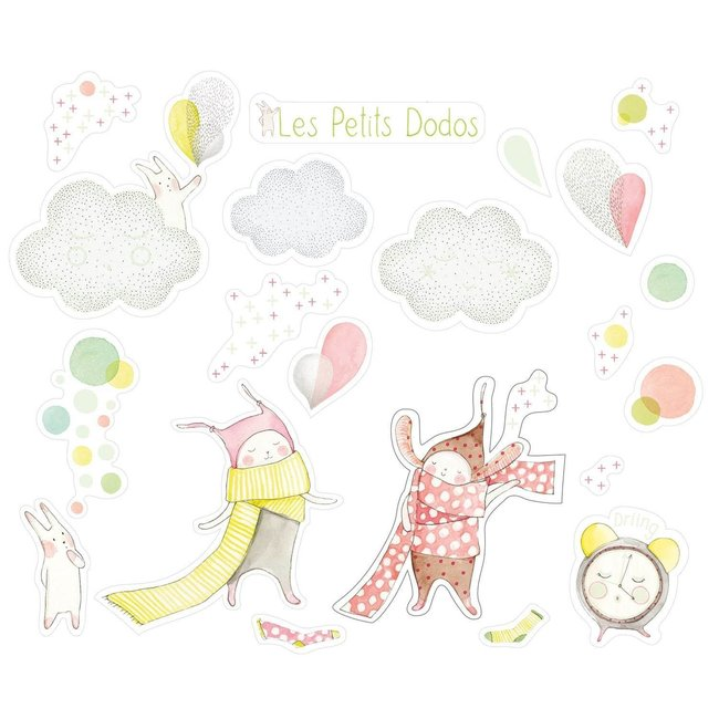 MOULIN ROTY Petits Dodos decorative stickers