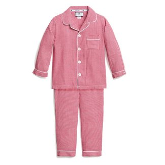 Petite Plume Red Mini Gingham Pajamas