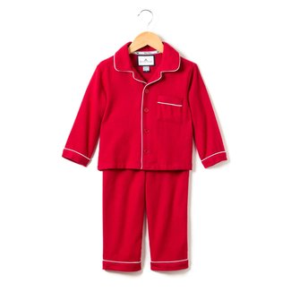 Petite Plume Classic Red Flannel Pajamas