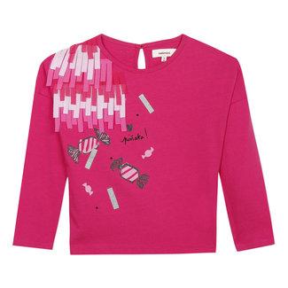CATIMINI Girl's T-shirt with 3D sweeties visual