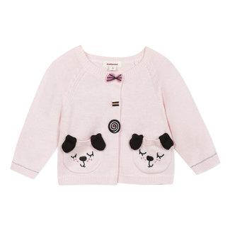 CATIMINI Baby girl's petal pink knitted cardigan