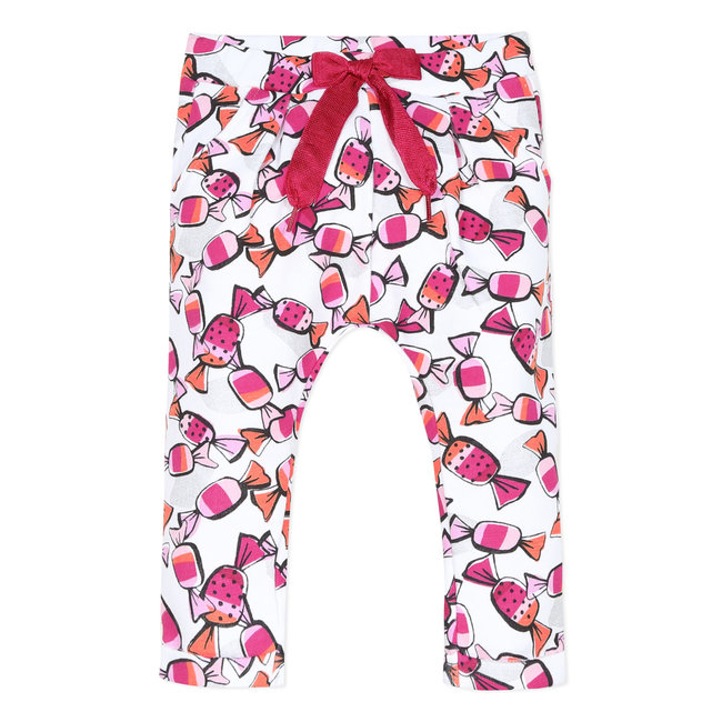 CATIMINI Baby girl's printed fleece treggings
