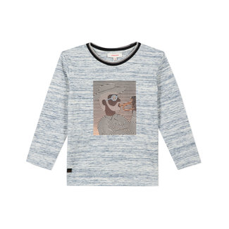 CATIMINI Boy's striped-effect jersey T-shirt with motif