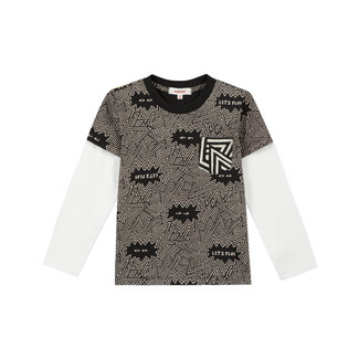 CATIMINI Boy's two-tone jersey T-shirt