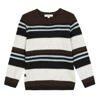 CATIMINI Boy's knitted striped jumper