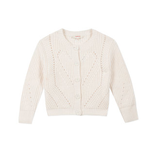 CATIMINI Large-gauge knitted jumper for girls