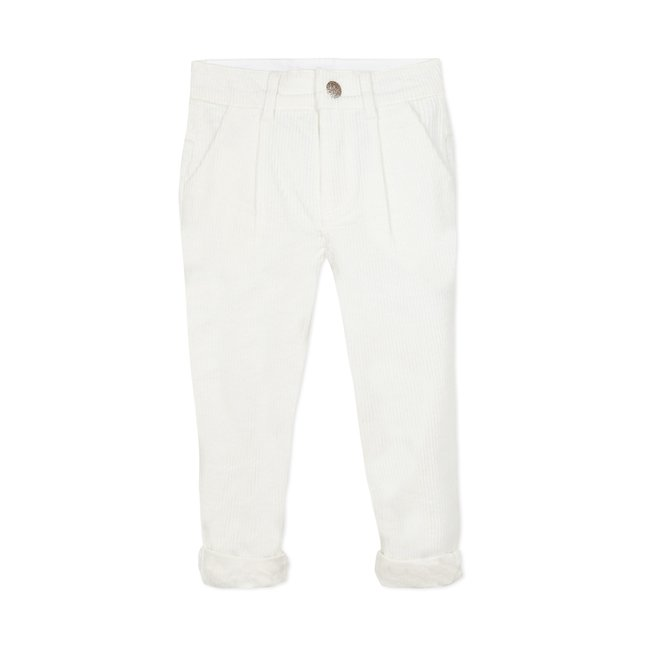 CATIMINI Girls' puebla velvet trousers
