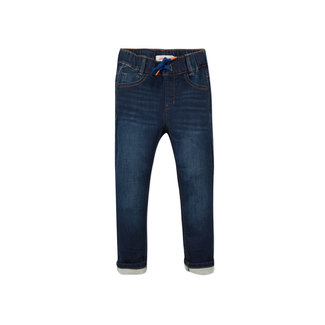 CATIMINI Boy's knit raw denim jeans