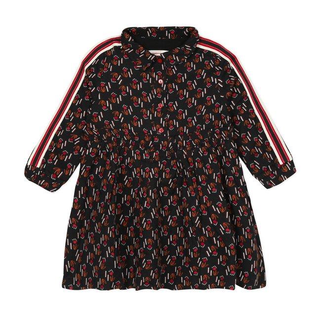 CATIMINI Girl's printed viscose dress
