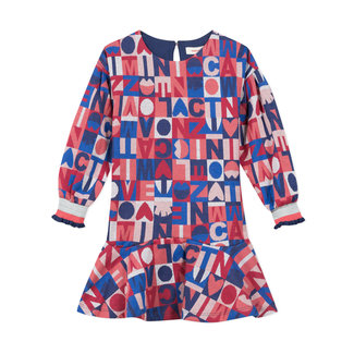 CATIMINI Girls' knit jacquard dress