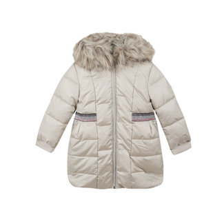 CATIMINI Girls' quilted mid-length puffa jacket