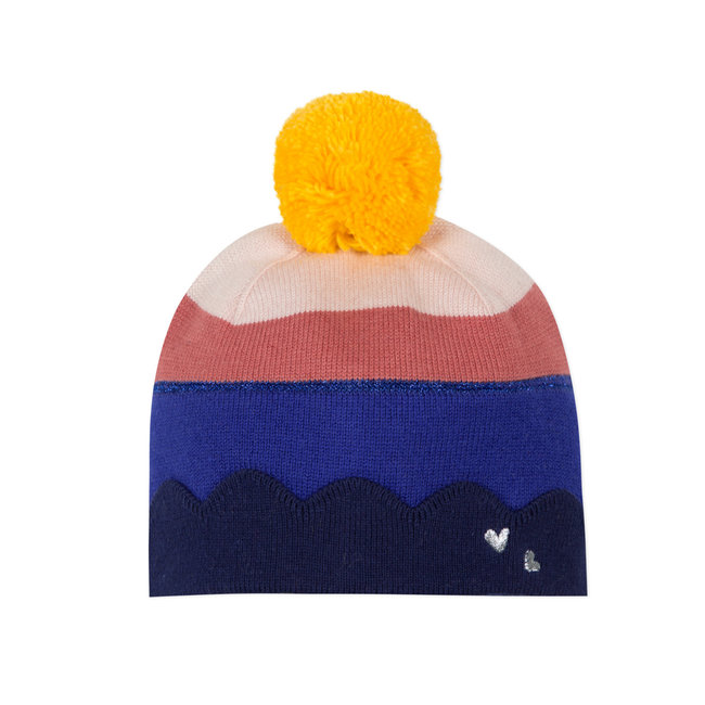 CATIMINI Baby girls' multicoloured knit hat