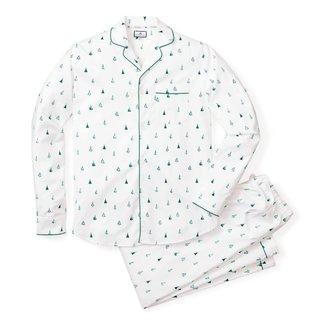 Petite Plume Men's Evergreen Pajama Set