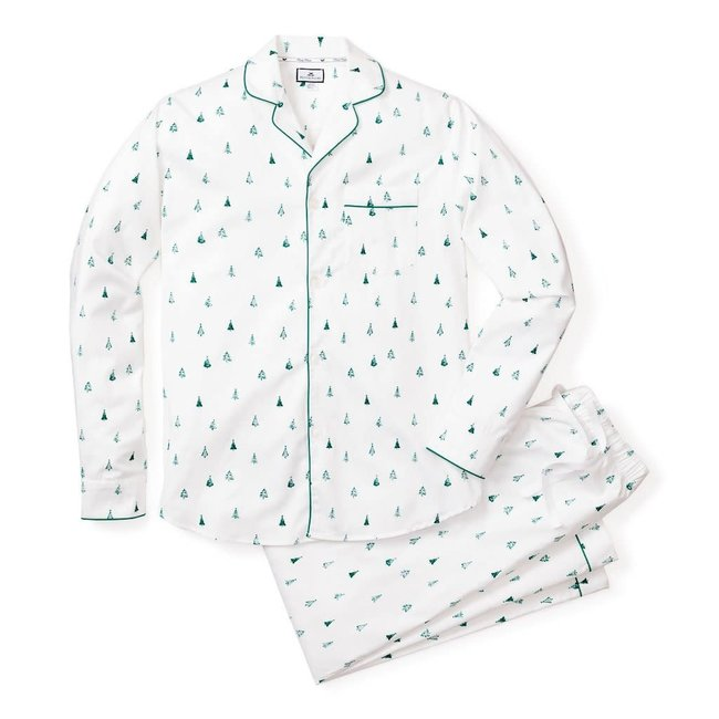 Petite Plume Men's Evergreen Pajama Set