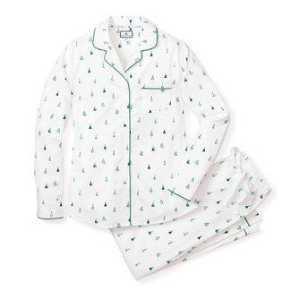 Petite Plume Women's Evergreen Pajama Set