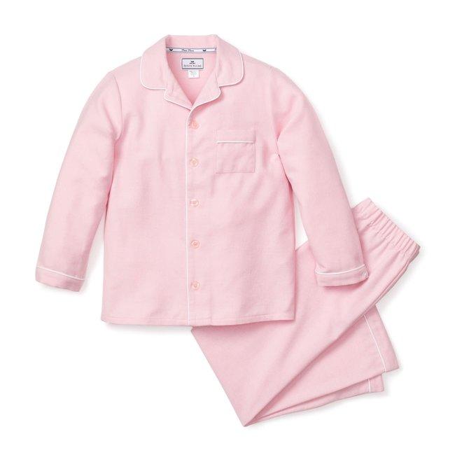 Petite Plume Pink Flannel Pajama Set