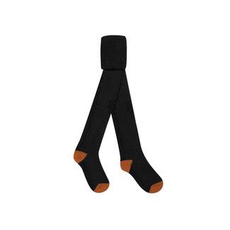 CATIMINI Girls' black knit tights