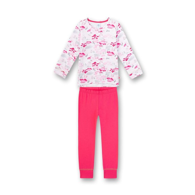 SANETTA Girl's long pajamas Pink Horse-Power