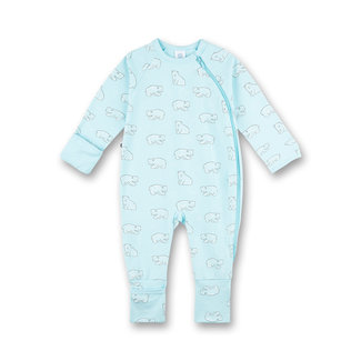 SANETTA Boy's overall blue Iceland