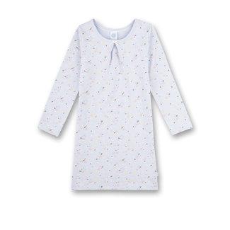 SANETTA Girl's nightgown blue Milles Fleurs