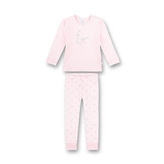 SANETTA Girl's long pajamas pink Swan Lake