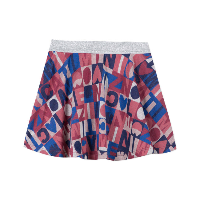 CATIMINI Girl's multicoloured Swiss skirt