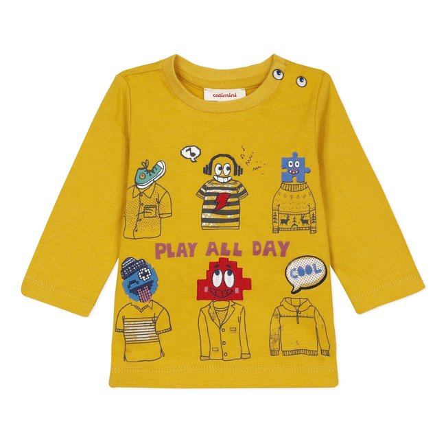 CATIMINI Baby Boy's jersey T-shirt with playful motif