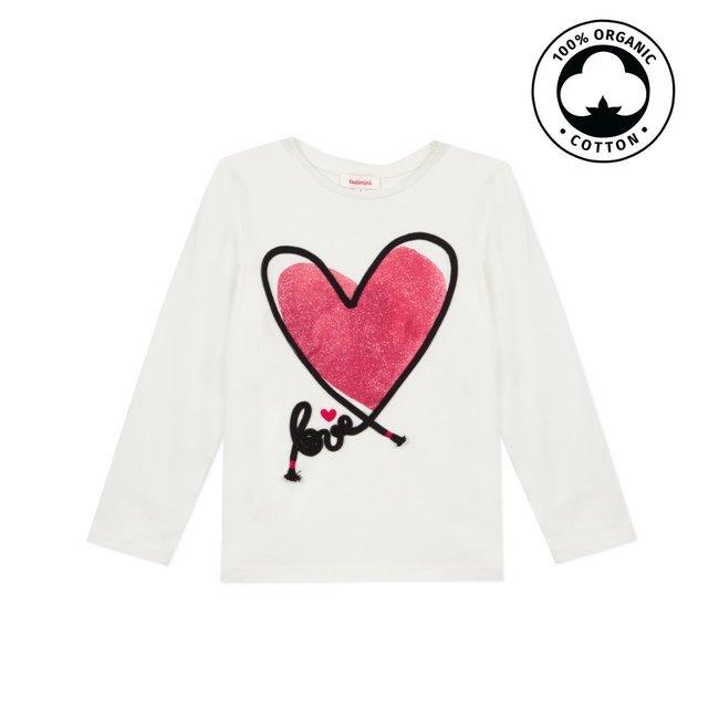 CATIMINI Girl's motif jersey T-shirt
