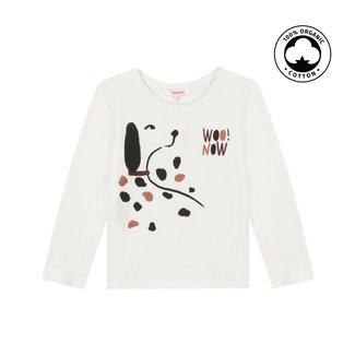 CATIMINI Girl's dalmatian motif jersey T-shirt