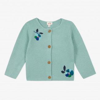 CATIMINI Baby girl's knitted cardigan
