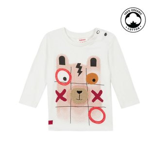 CATIMINI Baby boy's jersey T-shirt with puzzle motif