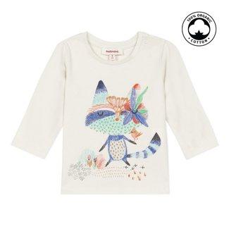 CATIMINI Baby girls' vanilla stretch jersey T-shirt