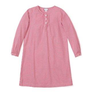 Petite Plume Women's Red Mini-Gingham Beatrice Nightgown