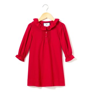 Petite Plume Red Victoria Flannel Nightgown