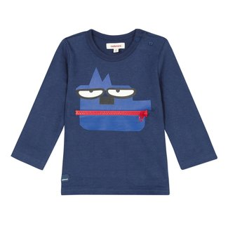CATIMINI Baby boys' jersey T-shirt with playful zip