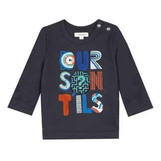 CATIMINI Baby boy's jersey T-shirt with patches
