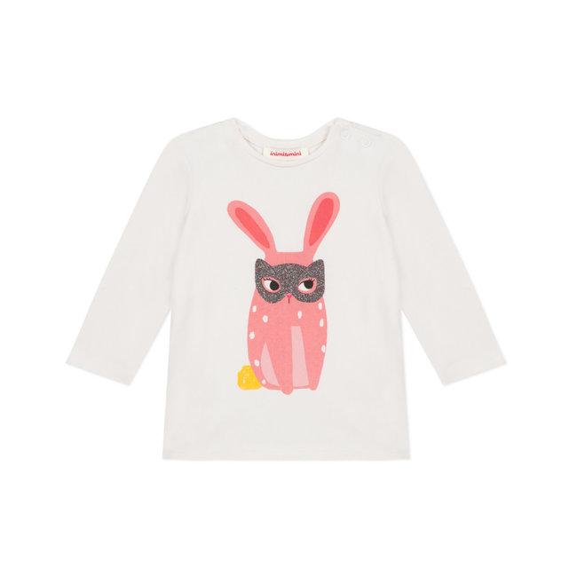 CATIMINI Baby girls' stretch organic cotton T-shirt with motif