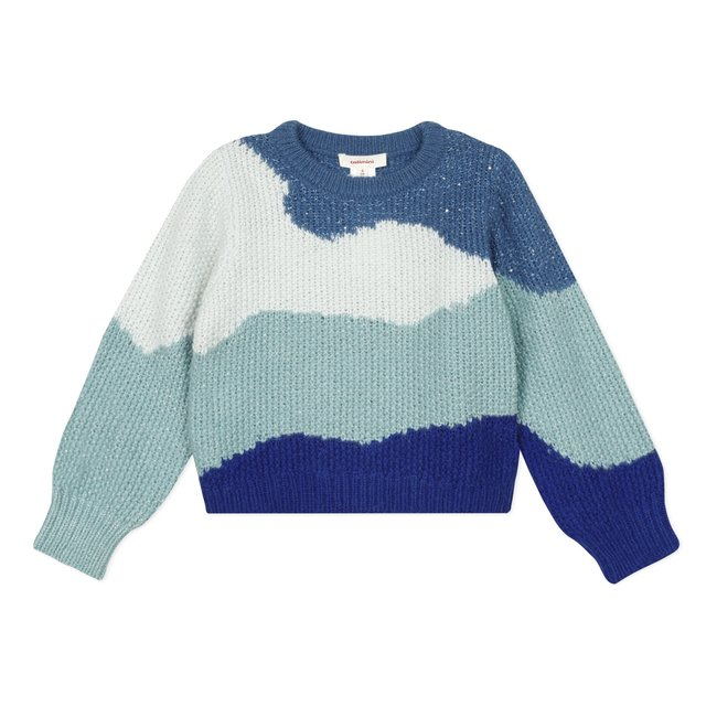 CATIMINI Girl's knitted monochrome jumper