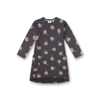 SANETTA Girls dress dark gray