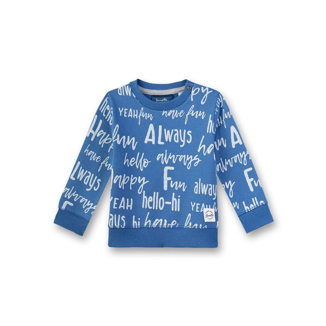 SANETTA Baby boys sweatshirt delft