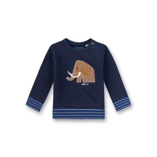 SANETTA Baby boys sweatshirt nordic blue