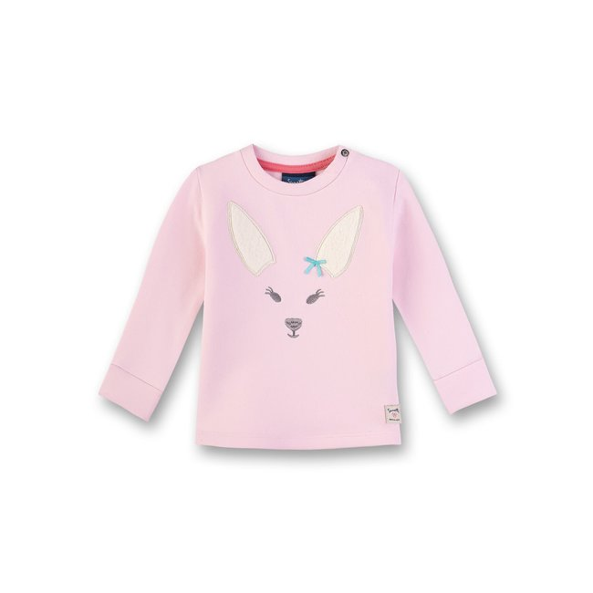 SANETTA Baby girls sweatshirt wild rose